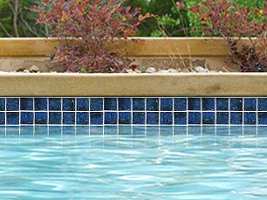National Pool Tile Meridian 2x2 Series | Electric Blue | MRD-ELECTRIC2X2