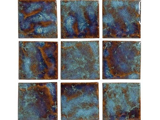 National Pool Tile Meridian 2x2 Series | Olive | MRD-OLIVE2X2