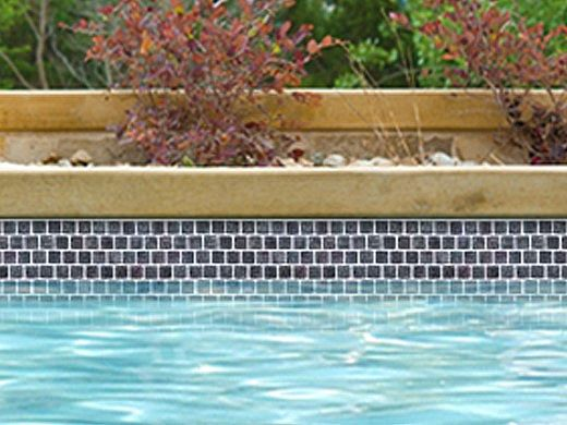 National Pool Tile Stonescapes 1x1 Series | Slate Blue | ST-1SLATE