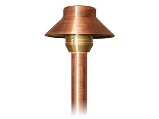 "FX Luminaire AllegroPianta Xenon G4 Path Light | Copper Finish | 12"" Riser | AP-20-12R-CU"