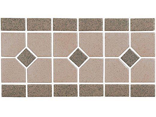 National Pool Tile Grace Series Pool Tile   Mocha   GRACE-MOCHA