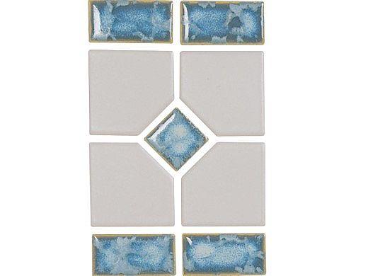 National Pool Tile Grace Series Pool Tile | Pearl | GRACE-BLISS