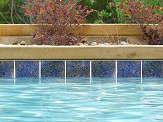 National Pool Tile Hawaii 6x6 Series | Lagoon | HAW-LAGOON