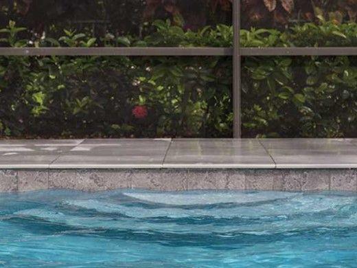 National Pool Tile Magnetite 6x6 Series | Black Semi-Polished | MAG-BLACK