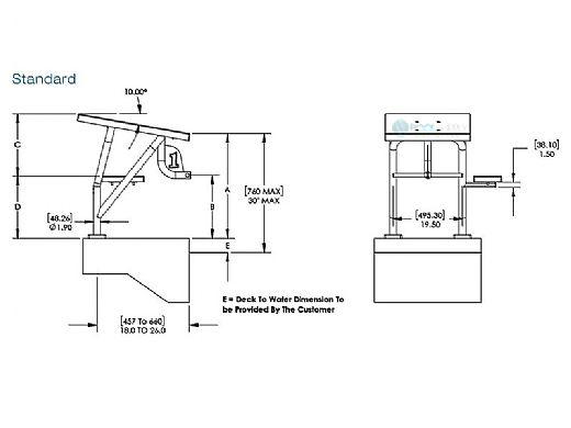 SR Smith Legacy Dual Post Starting Platform | LEGACY-DP-SP-9999A