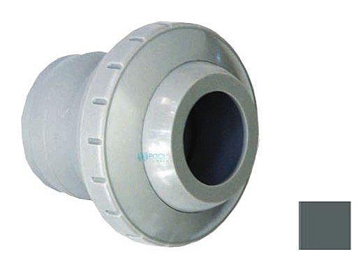 "AquaStar Three Piece Directional Eyeball Fitting | 1-1/2"" Knock-In | with .5"" Orifice | Light Gray | 4303"