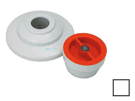 """AquaStar 1/2"""" Extender with 3 pc Decorative Cover and Plaster Cap with 1/2"""" Orifice 