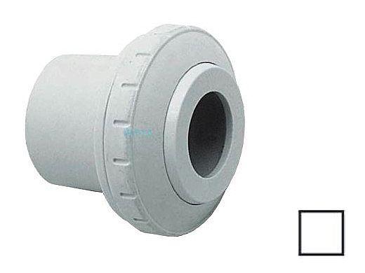 "AquaStar Directional Eyeball Fitting 3 pc 1 1/2"" Slip Insider 3/4"" Orifice | White | SL8201"