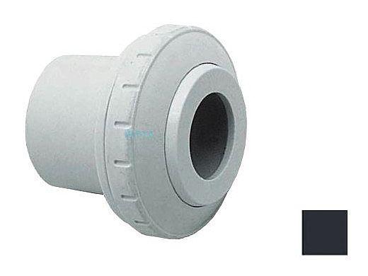 "AquaStar Directional Eyeball Fitting 3 pc 1 1/2"" Slip Insider 3/4"" Orifice | Black | SL8202"