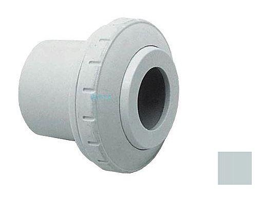 "AquaStar Directional Eyeball Fitting 3 pc 1 1/2"" Slip Insider 1/2"" Orifice | Light Gray | SL8303"