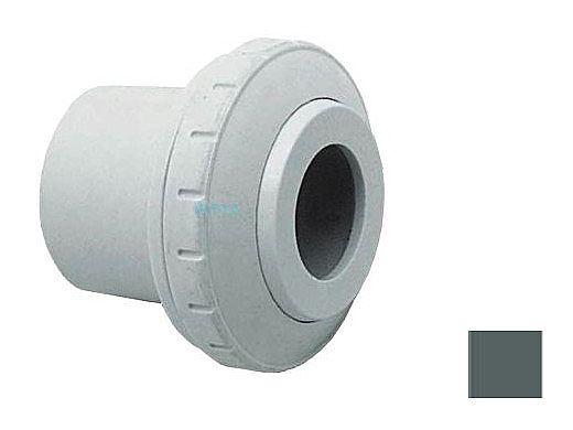 "AquaStar Directional Eyeball Fitting 3 pc 1 1/2"" Slip Insider 1/2"" Orifice   Dark Gray   SL8305"