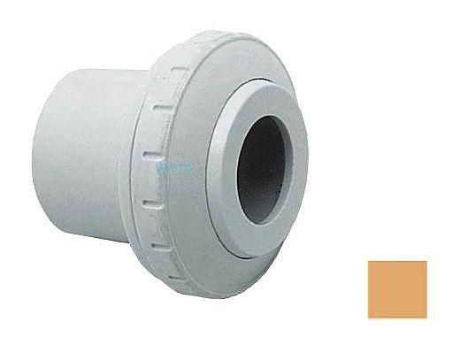"AquaStar Directional Eyeball Fitting 3 pc 1 1/2"" Slip Insider 1/2"" Orifice | Tan | SL8308"