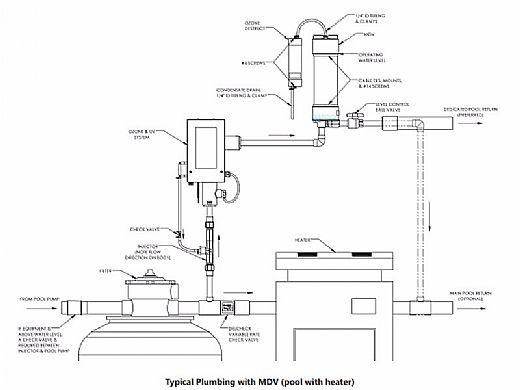 DEL MDV Mixing De-Gas Vessel for DEL AOP Systems   MDV-10-08