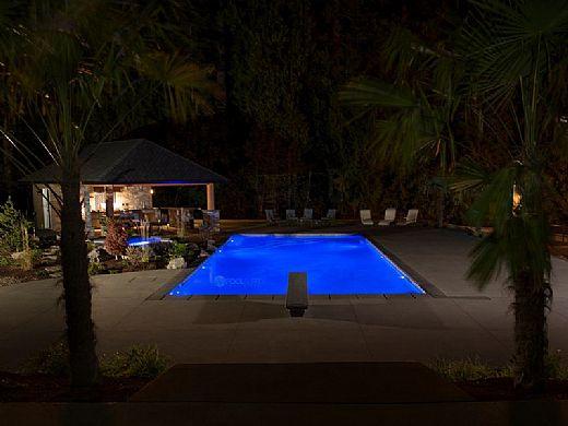 SR Smith Kelo Color RGB LED Underwater Pool Light | 7W 12V 80' Cord | KLED-C-80