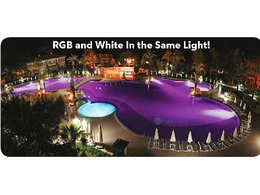 J&J Electronics ColorSplash LXG-W Series RGB + White LED Spa Lamp | 120V | LPL-S2-RGBW-120