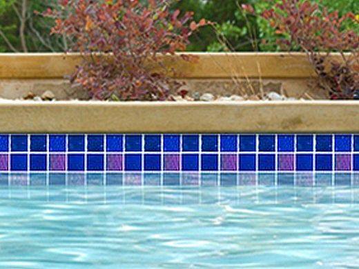 National Pool Tile Equinox 2x2 Glass | Dark Blue | EQX-MIDNIGHT2X2