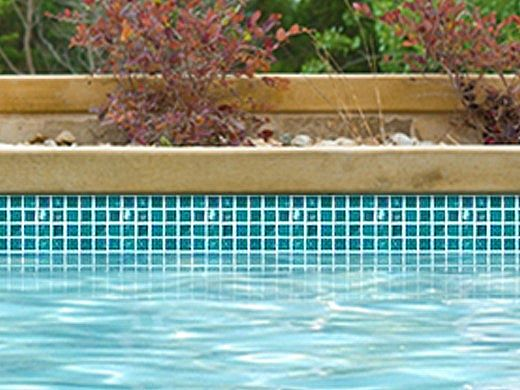 National Pool Tile Equinox 1x1 Glass Tile | Verde | EQX-EVERGREEN