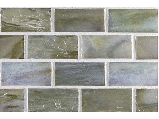 National Pool Tile Boutique Agate Series 1x2 Glass Tile | Cortona Pearl | AGT-1X2-CORTONA-PEARL