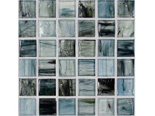 National Pool Tile Boutique Tozen Series 1x1 Glass Tile | Iodine Natural | TOZ-1X1 IODINE NAT