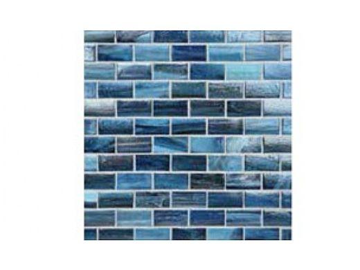 National Pool Tile Boutique Agate Series 1x2 Glass Tile | Portofino Pearl | AGT-1X2-PORTOFINO-PEARL
