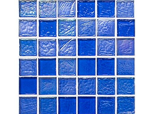 National Pool Tile Sea Ice Series 1x1 Glass Tile | Ocean | ICE-OCEAN