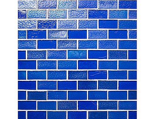 National Pool Tile Sea Ice Series 1x2 Glass Tile | Ocean | ICE-OCEAN1X2