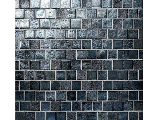 National Pool Tile Oceanscapes 1x1 Glass   Mavericks   OCN-MAVERICKS