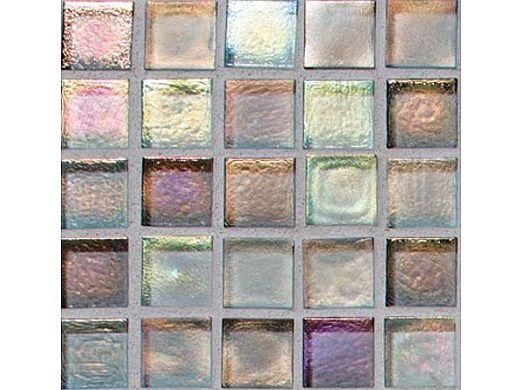National Pool Tile Boutique Oceanside Mini Blend Glass Tile   Surfside   OCN-SURFSIDE MINI