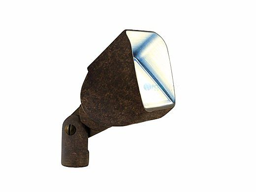 FX Luminaire LC LED Up Light   ZDC Dimming with Color   Antique Tumbled   LC-ZDC-AT