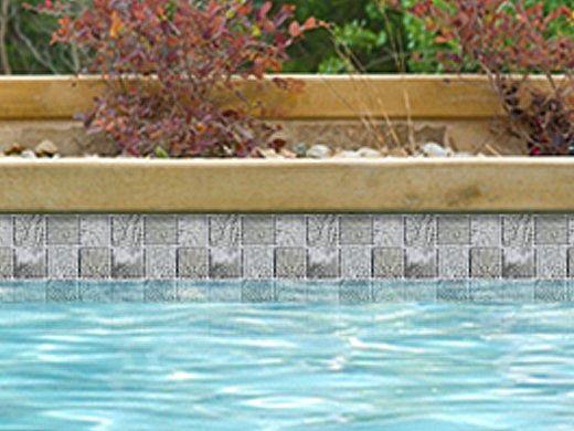 National Pool Tile Resort 2x2 Series   Flint Gray   RST-FLINT