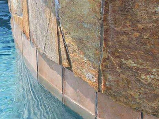 National Pool Tile Terrasini 6x6 Series   Terra Rosso   TER-ROSSO