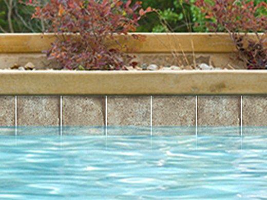 National Pool Tile Terrasini 6x6 Series   Terra Verde   TER-VERDE