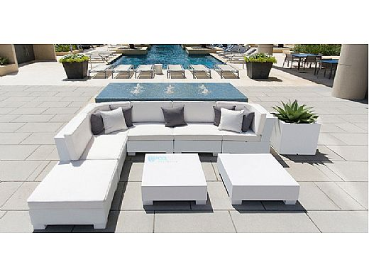 Ledge Lounger Signature Collection Coffee Table | Purple | LL-SG-CT-P