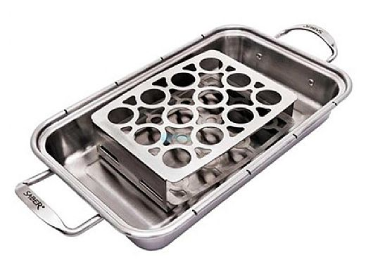 SABER Stainless Double Pepper Roaster | A00AA7418