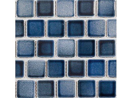 National Pool Tile Mix 1x1 Series | Ocean Blue Blend | MIX-OCEAN