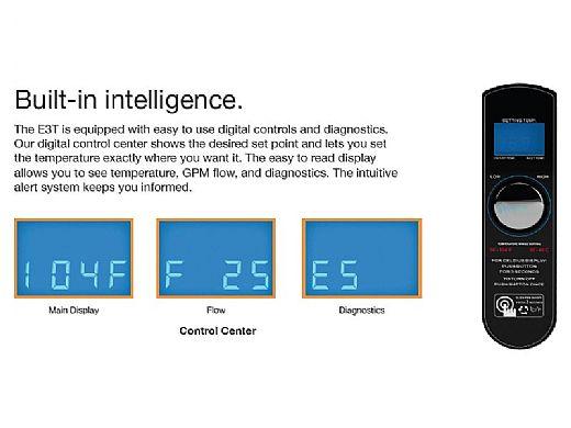 Raypak E3T Digital Pool Electric Heater | 18kW 61,419 BTU | Titanium Heat Element | 240V | ELS-R-0018-1-T1 017123 ELS-M-0018-1-TI 017127