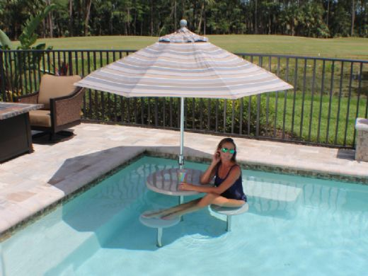 """SR Smith Destination Series 16"""" In-Pool Seat 