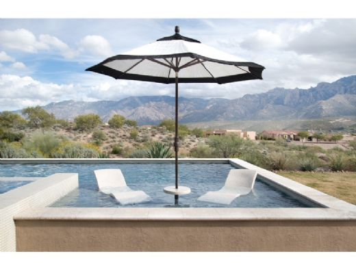 SR Smith Destination Series In-Pool Lounger | Seashell | DS-1-61