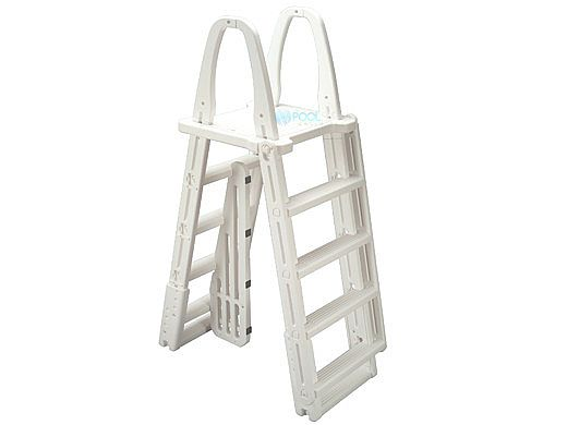 Ocean Blue A-Frame Swing-Up Ladder for Above Ground Pools | 400200