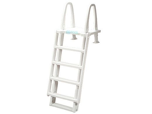Ocean Blue Outside Safety Ladder for Above Ground Pools   400950