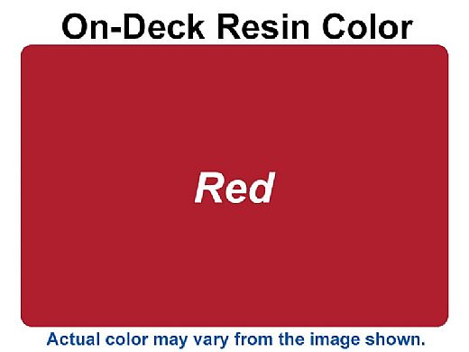 """Ledge Lounger Mainstay Collection 36"""" Square Outdoor Dining Table   Red   LL-MS-DT-36SQ-RD"""