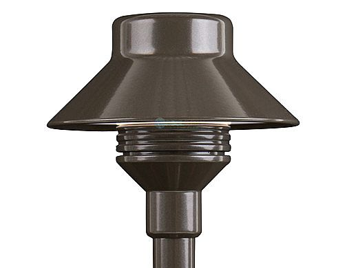 "FX Luminaire TM LED Pathlight | Zone Dimming 3LED | Bronze Metallic | 18"" Riser | TM-ZD-3LED-18RA-BZ KIT"