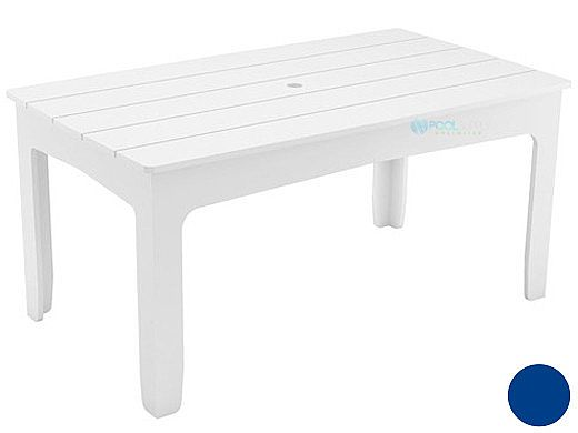 "Ledge Lounger Mainstay Collection Rectangular Outdoor Dining Table | 75"" x 36"" 