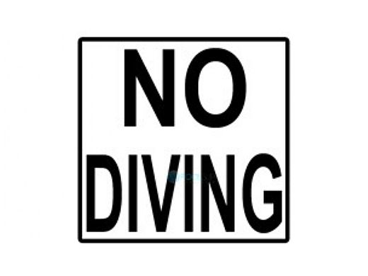 Inlays Depth Marker 6x6 Frost Proof Tile No Diving