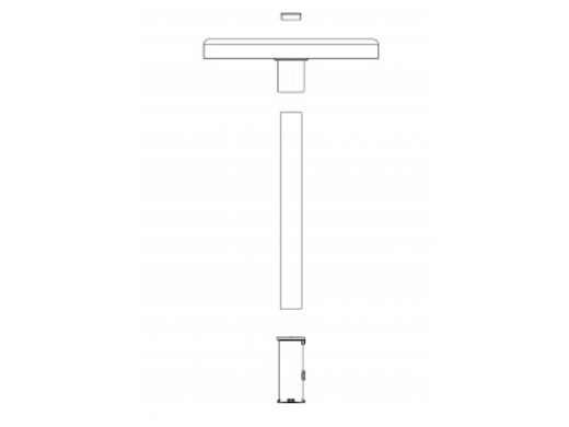 "SR Smith Destination Series 16"" Sun Shelf Table   Anchor Not Included   Tan   WS-16 NOANC-51-C"