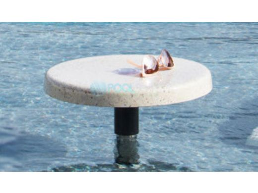 "SR Smith Destination Series 16"" Sun Shelf Table | Vinyl Liner Anchor Included | Tan | VL-16 TABLE-51-C"