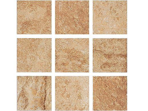 National Pool Tile Aztec 2x2 Series   Barley   AZ203