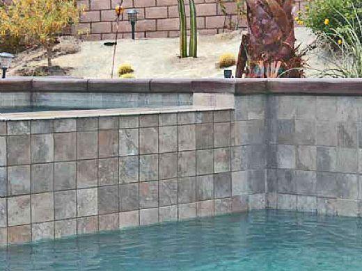 National Pool Tile Aztec 2x2 Series | Cobalt Blue | AZ206