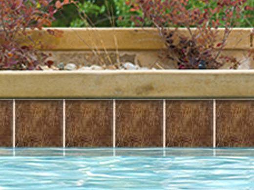 National Pool Tile Aztec 6x6 Series | Peacock | AZ601