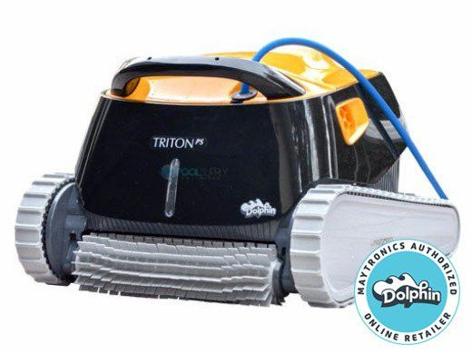 Maytronics Dolphin Triton PS Inground Robotic Pool Cleaner with PowerStream | 99996207-USW